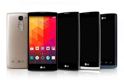 android lg lg just revealed four new android phones phonedog