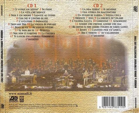 testo io voglio vivere musica su leopardo it nomadi album live