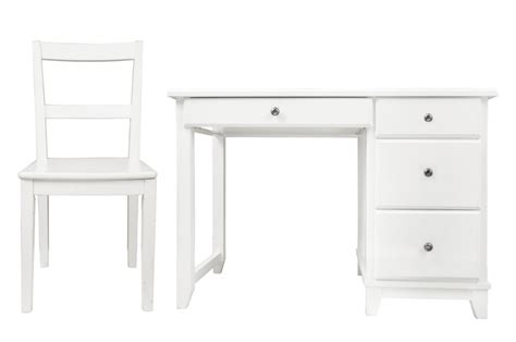 Devon Desk Chair Set Qualita White Desk And Chair Set
