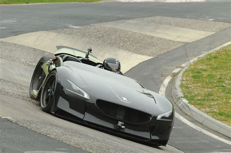 peugeot fastest car peugeot ex1 concept is fastest electric car on n 252 rburgring