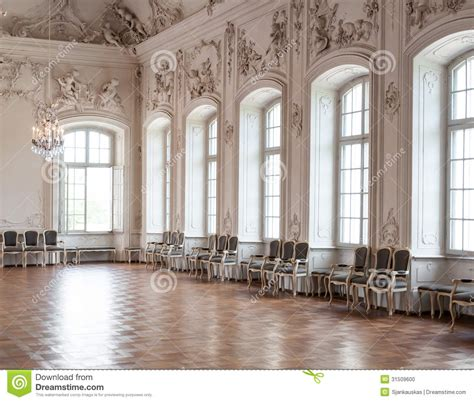 Studio Apartment Plans great hall in rundale palace stock photo image 31509600