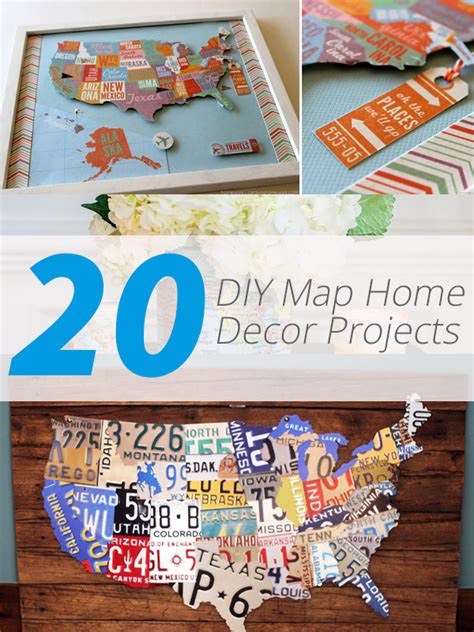 map home decor 20 diy map home decor projects for a travel inspired