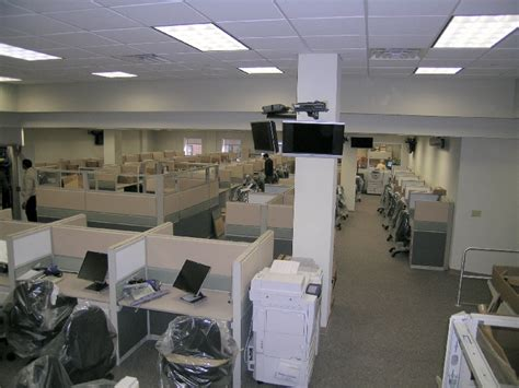 netfloor in a time warner cable office