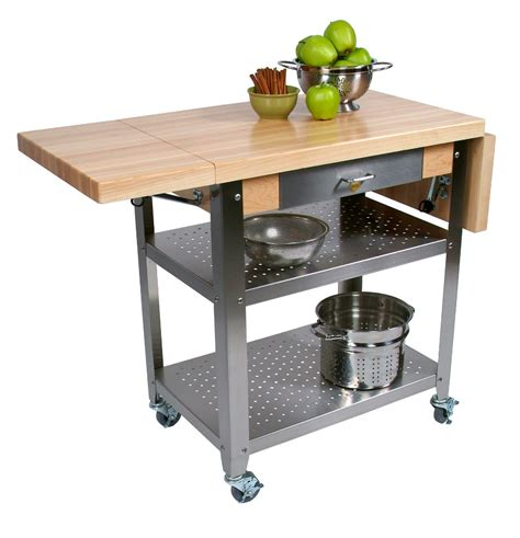 boos kitchen islands boos cucina elegante wood steel kitchen cart