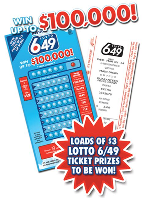 Instant Play Sweepstakes Scam - wclc instant lotto 6 49