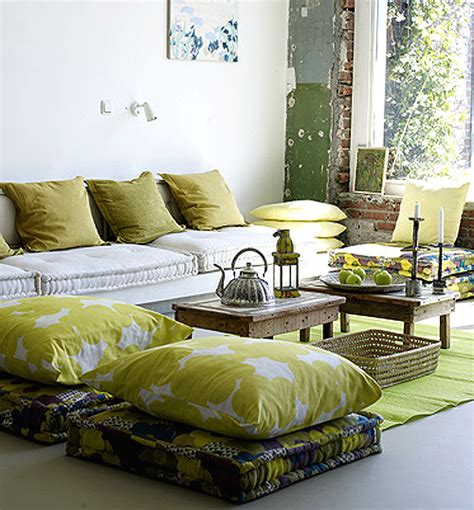 Pillows On The Floor feng shui interior design floor pillows the tao of
