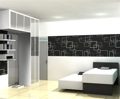 desain dapur minimalis hitam putih desain interior apartemen hitam putih rumah dan desain
