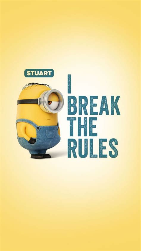 minions wallpaper for desktop with quotes minion quotes wallpapers wallpaper cave