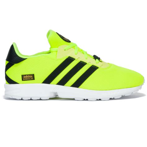 adidas zx gonz shoes solar yellow black at skate pharm