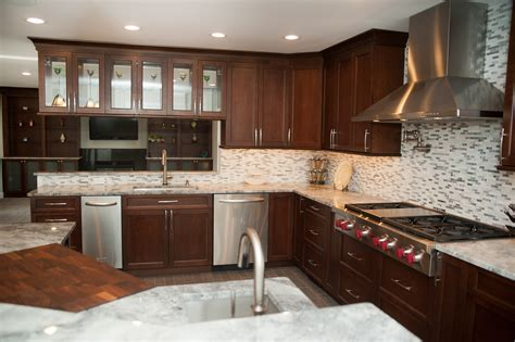 gourmet kitchen designs design build case study gourmet kitchen remodel morris nj