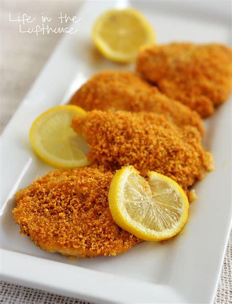 Chicken Crispy crispy baked lemon chicken