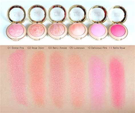 Baked Blush Luminoso milani baked blush luminoso coral verslun