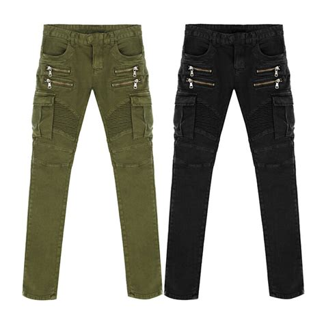 15 new biker moto jeans for men the jeans blog new arrival high quality green black motorcycle denim