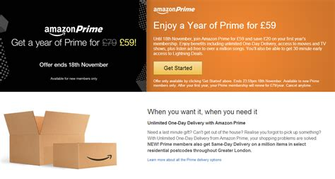 amazon uk prime you can subscribe to amazon prime in the uk for just 163 59