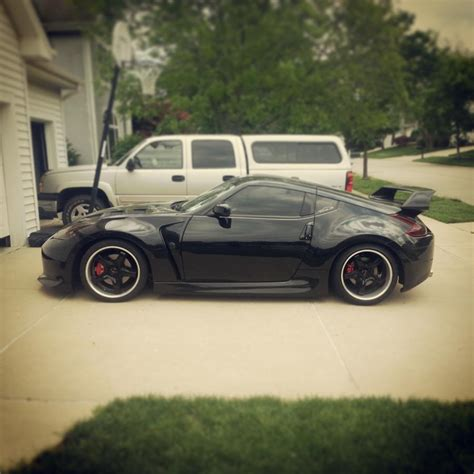 nissan 370z blacked out wheels keep it chrome or black it out nissan 370z forum