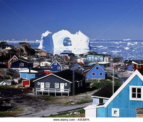 Bright Homes by Greenland Iceberg Houses Stock Photos Amp Greenland Iceberg Houses Stock Images Alamy