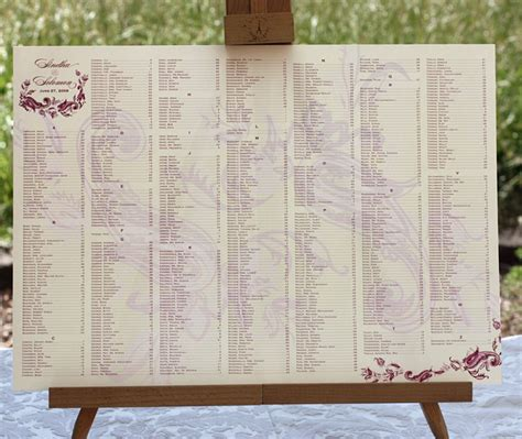 table charts for wedding reception wedding reception table seating charts invitations by ajalon