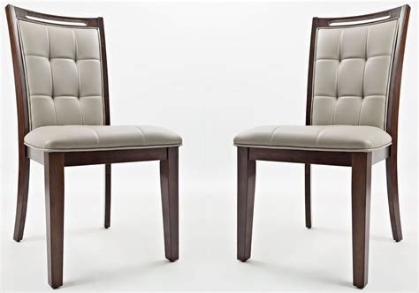 manchester upholstered dining chair set of 2 1672 385kd