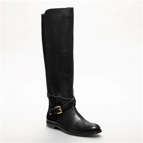 coach boot in black lyst