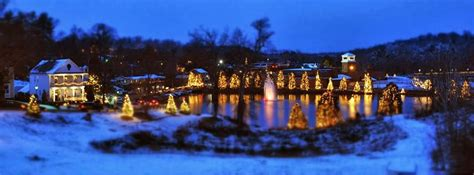 christmas town in north carolina is an ideal place for christmas town usa brookside exclusives