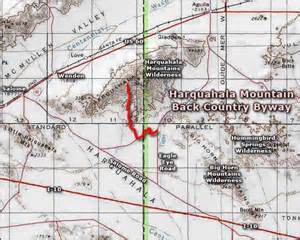 arizona observatories map harquahala mountain back country byway