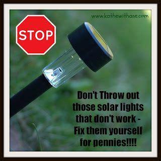 how to fix solar lights solar lights diy fix stuff i never knew