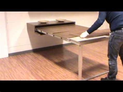 mesa consola extensible pata giratoria youtube en  muebles multifuncionales mesas