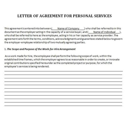 Contract To Hire Letter explaining the work for hire doctrine in employment