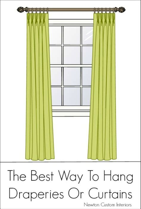 how to hang window treatments 123 best images about curtains on pinterest window