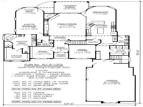House Plans 2 Story by 2 Story House Plans With Loft Custom 2 Story House Plans