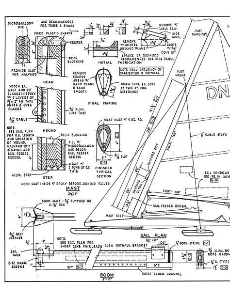 Boat Construction Drawings