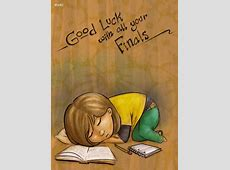 Shaeis and TheGenk Style: Good Luck for Final Examination ... Final Exam Wishes