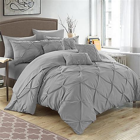 10 piece queen comforter set buy chic home salvatore 10 piece queen comforter set in