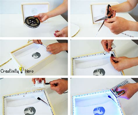 how to create light without electricity how to create a 3d paper cut light box diy project