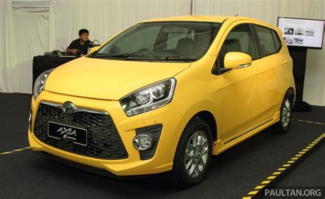 perodua singapore perodua axia goes on sale in singapore rm231 827
