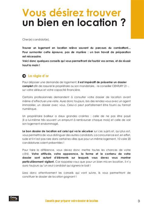 Lettre De Recommandation Employeur Pour Location Appartement Conseil Pour Pr 233 Parer Votre Dossier De Location Par Century 21