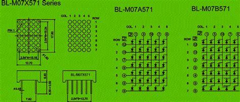 height  led dot matrix