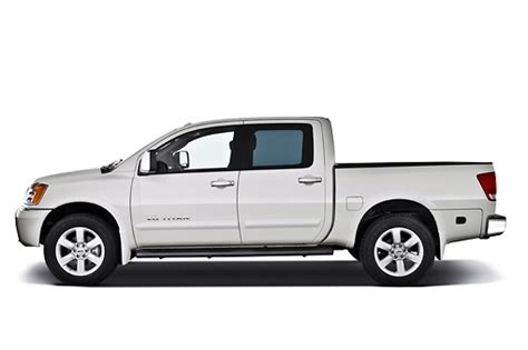 nissan white truck crew cab car stock photos kimballstock