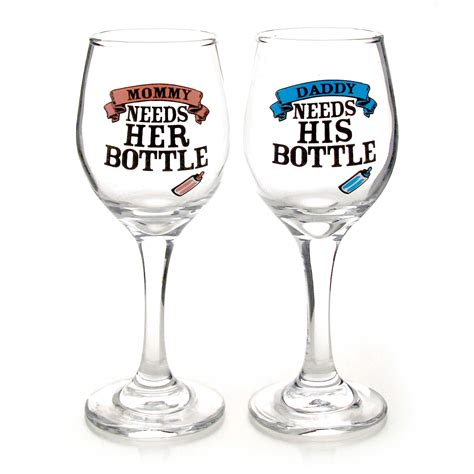 Wine Vase Name our name is mud 4050730 sippy cup wine glass set its time for daddys bottle its time for
