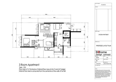 proposed living room floor plan blogged about today 3 room sengkang proposed layout plan vincent interior