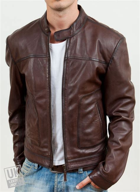 brown motorcycle jacket the 25 best ideas about men s leather jacket on pinterest