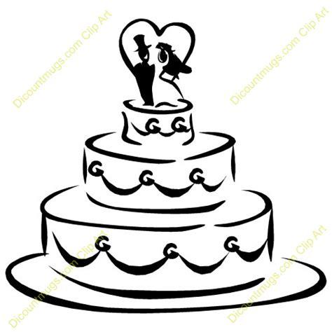 wedding shower clip art clipart 11938 wedding cake
