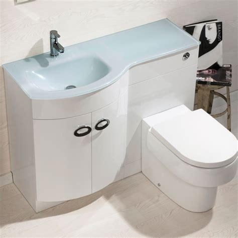 Bathroom Sink Toilet Vanity Unit Bathroom Cabinet Back To Wall Toilet Basin Sink Suite