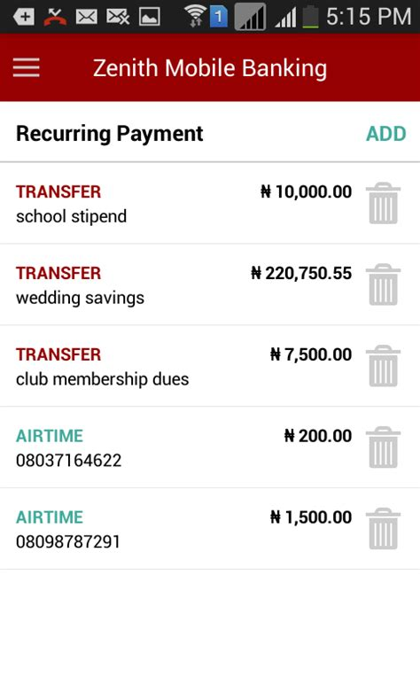 zenith bank mobile app android apps on play