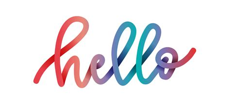 colorful fonts create colorful gradient lettering in adobe illustrator