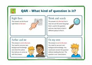 qar template qar question answer relationship