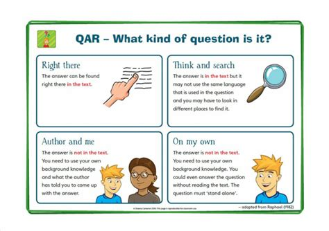 qar question answer relationship