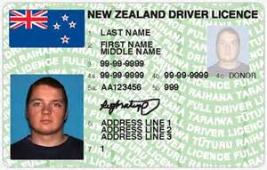 Car Hire New Zealand Driving Licence Plastic Card Licence Cars And The Motor Industry Te
