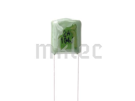 capacitor code for 100nf 100nf 0 1uf polyester capacitor