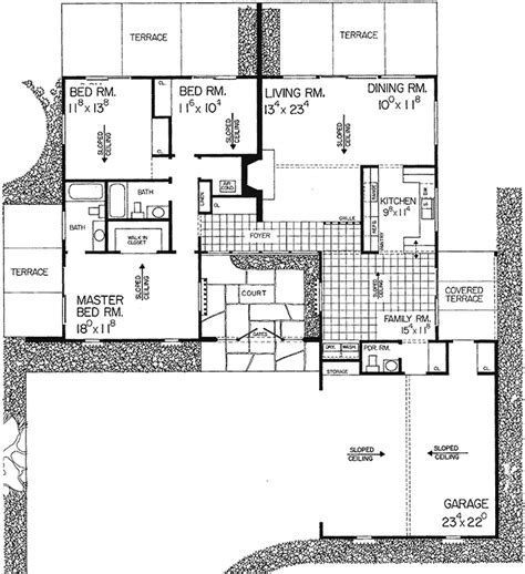 ranch style floor plans 3000 sq ft ranch style house plans 3000 square foot home 1 story 4